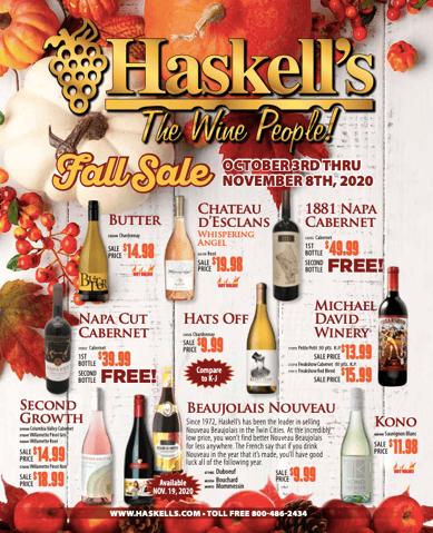 Fall Sale catalog cover