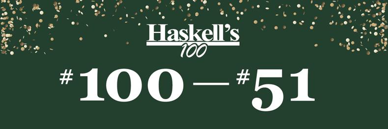 Haskells 100 LP banner_