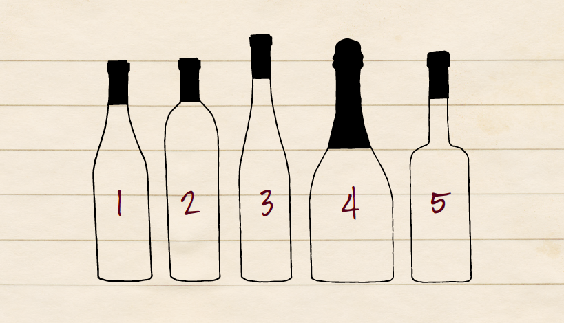 Basic Wine Bottle Shapes