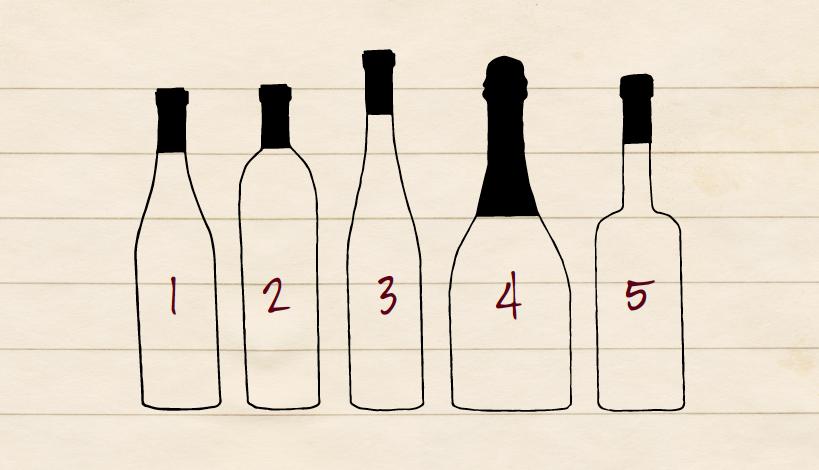 Basic Wine Bottle Shapes